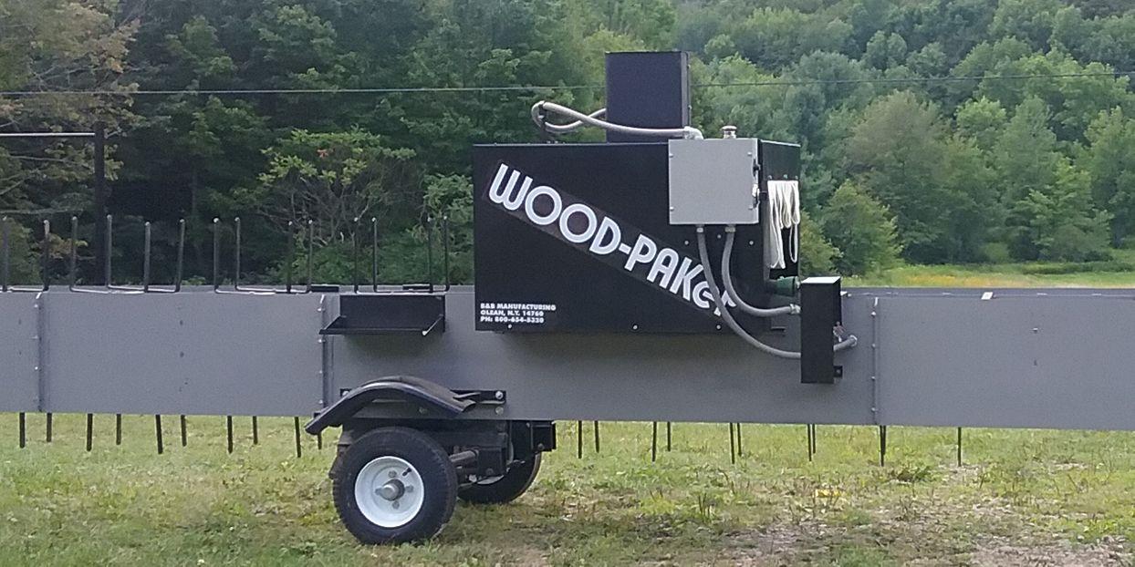 WOOD-PAKer Heat Shrink Packing Line