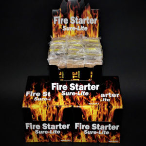 Sure-Lite Fire Starters 2-Display Cases